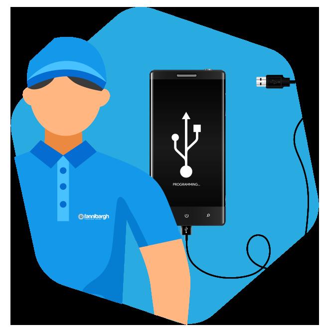 آموزش تعمیرات نرم افزار موبایل
