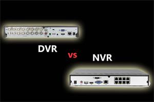 تفاوت NVR و DVR