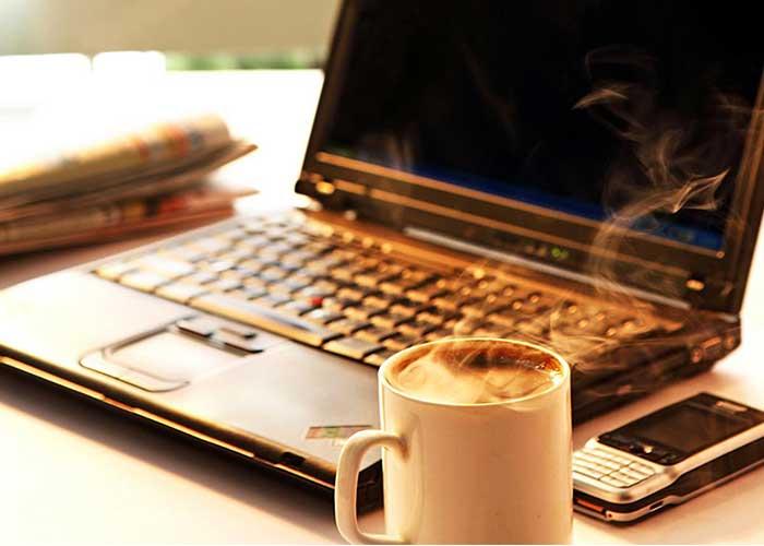 دمای لپ تاپ