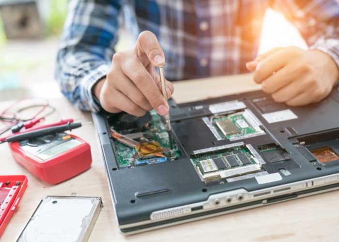 مشکلات سخت افزاری لپ تاپ