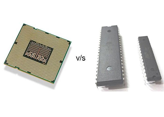 تفاوت میکروکنترلر و میکرو پروسسور