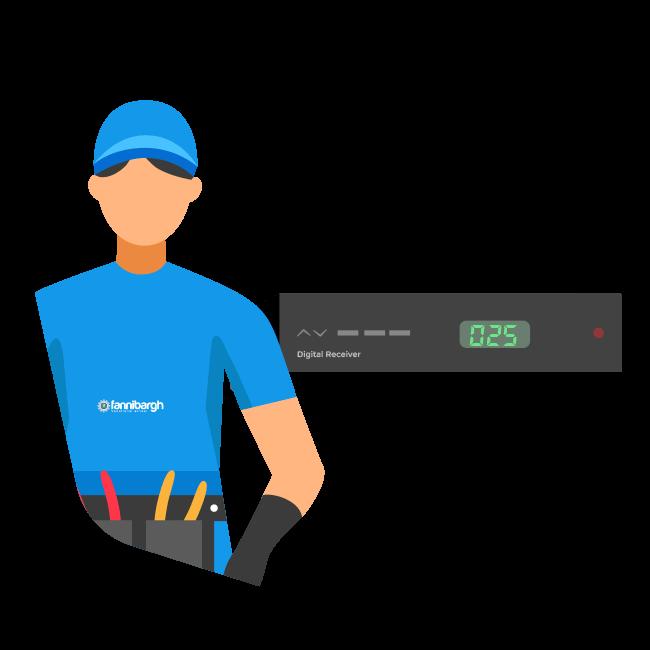 آموزش تعمیرات گیرنده دیجیتالی