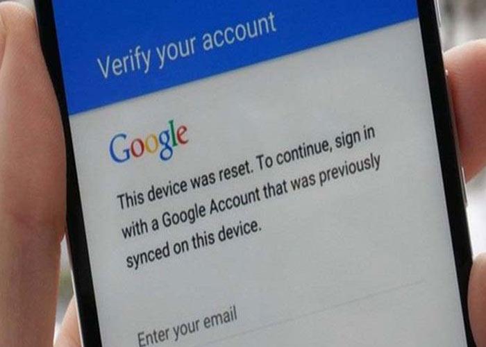 قفل گوشی های اندرویدی با ورود به اکانت جیمیل