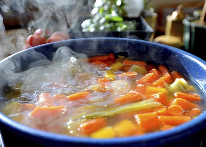 غذاهای داغ