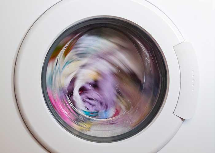 چرخش لباسشویی