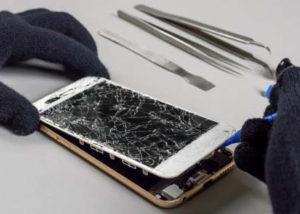 تعمیر ال سی دی گوشی و گلس شکسته موبایل