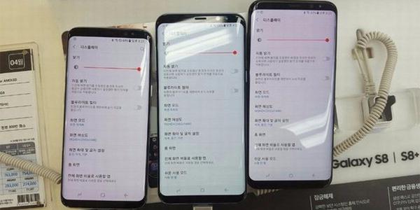 مشکل صفحه نمایش s8 و قرمزی صفحه نمایش