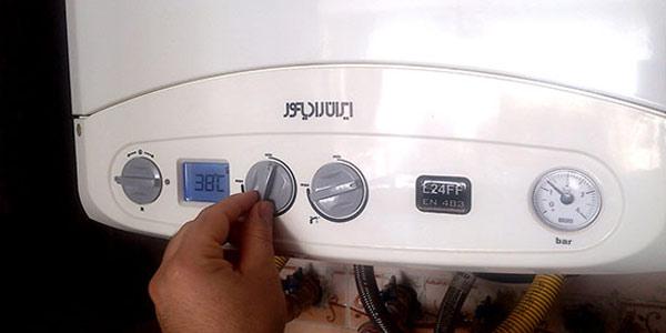 کم بودن فشار آب گرم پکیج ایران رادیاتور