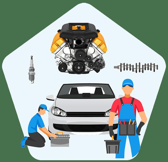 آموزش تعمیر موتور خودروهای داخلی