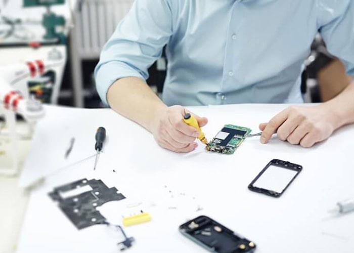 دریافت مدرک بین المللی تعمیرات موبایل