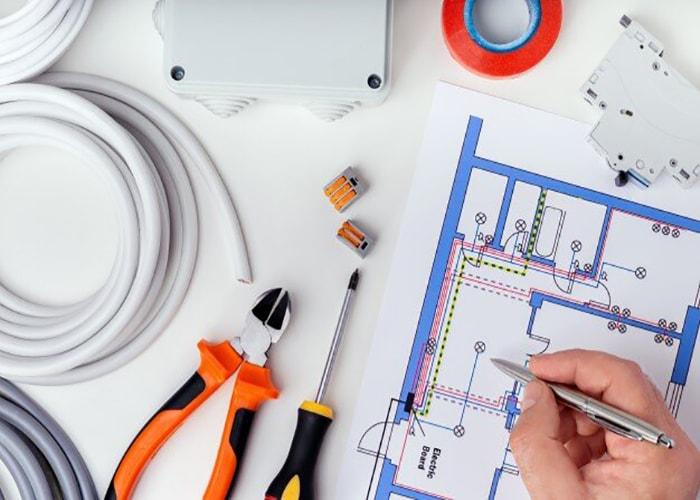 طراحی نقشه سیم کشی ساختمان
