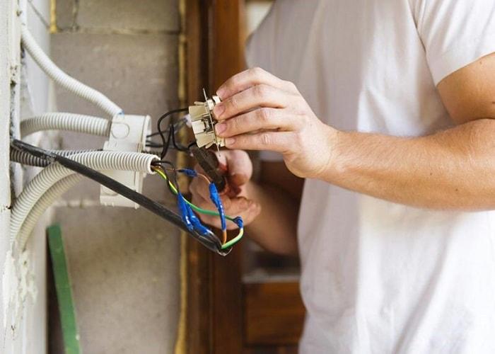 مراحل برقکاری ساختمان