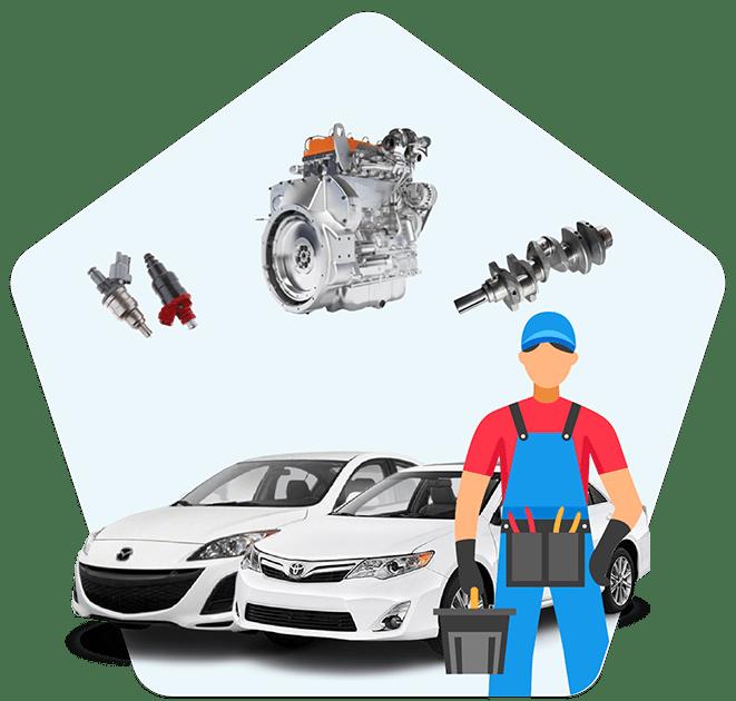 آموزش تعمیر موتور تویوتا و مزدا