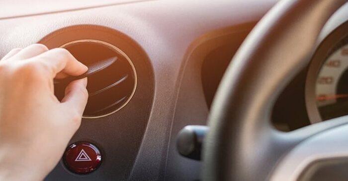 علت باد گرم کولر ماشین