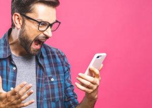 مشکلات موبایل