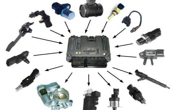 آشنایی با انواع سنسورهای خودرو و نحوه ارتباط با ایسیو
